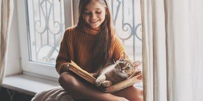Wird Ihre Katze mit Kindern in Kontakt sein?